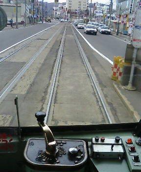 あこがれの運転席 ちんちん電車