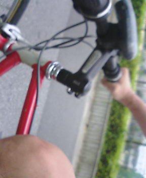 【骨折り日記】自転車通勤 再開
