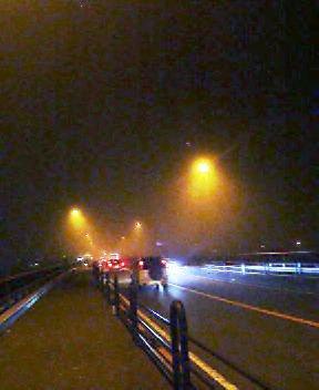 夜霧の第一国道