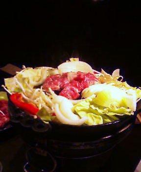 故郷の味 ジンギスカン鍋